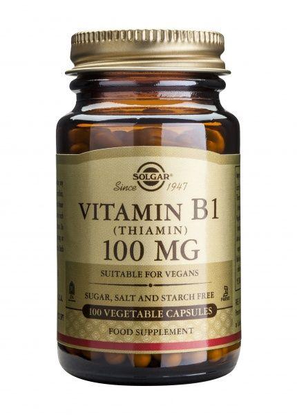 B1 vitamiin 100 mg 100 kaps