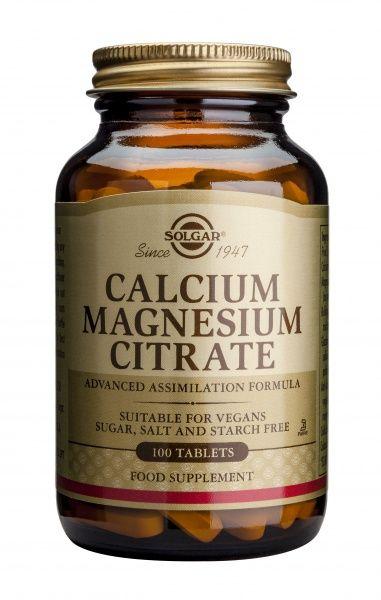 Kaltsium-Magneesiumtsitraat 100 tbl