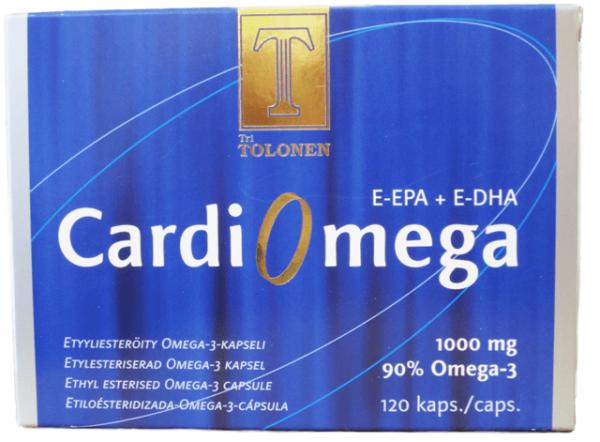 Cardiomega 120kaps Tolonen
