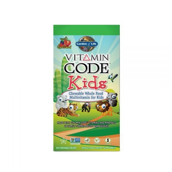 Laste Multivitamiinid Vitamin Code Kids Garden of Life