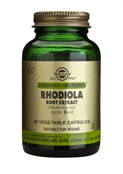 Kuldjuure ekstrakt (Rhodiola Rosea) 60kaps
