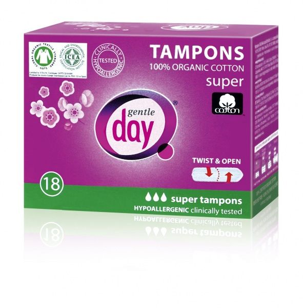 Gentle Day tampoon Super 18 tk