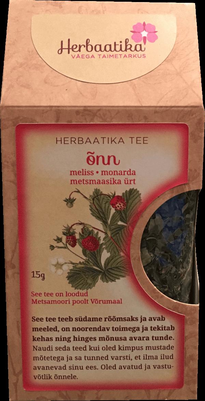Herbaatika tee ÕNN