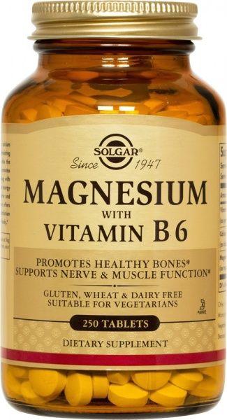 Magneesium + B6 250 tbl