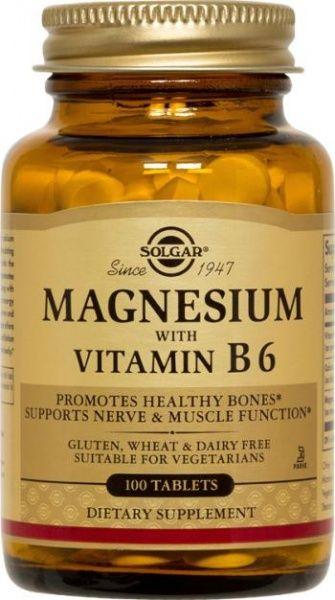 Magneesium + B6 100 tbl