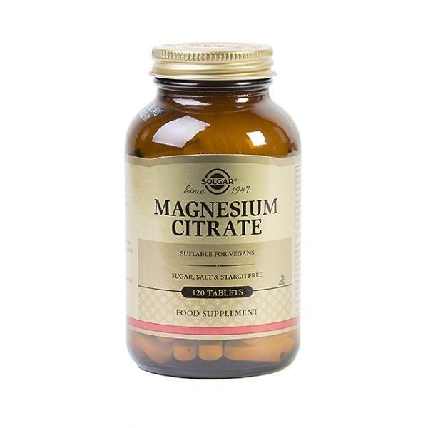 Magneesiumtsitraat 120 tbl