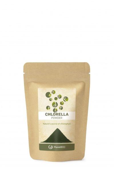 Chlorella pulber 100g Planet Bio
