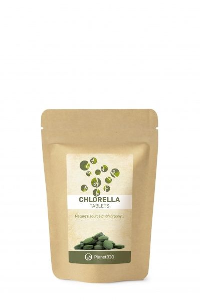 Chlorella tabletid 90g/180 tk Planet Bio