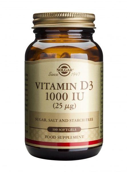 Vitamiin D3 1000IU 100kaps