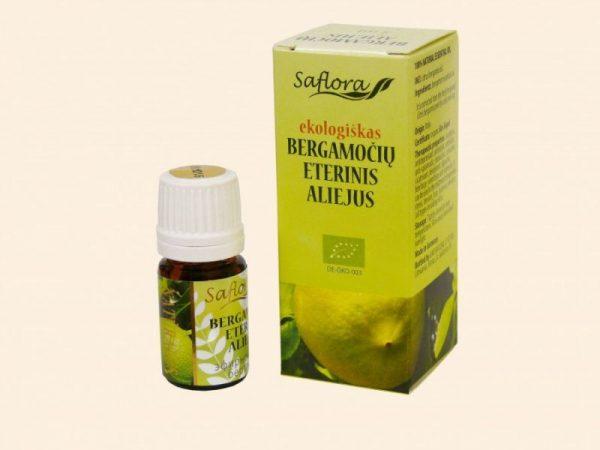 Eeterlik õli BERGAMOT 5ml Saflora