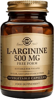 L-Arginiin 500mg 50kaps