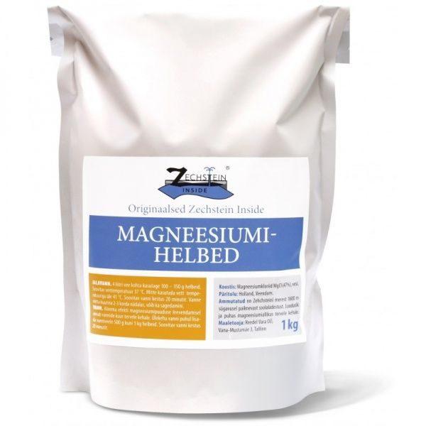 Magneesiumihelbed 1 kg