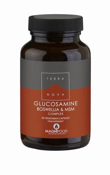 Glucosamine, Boswellia & MSM Complex 50 kaps Terranova (Vegan)