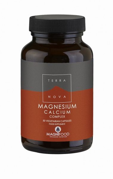 Magnesium Calcium 2:1 Complex 50kaps Terranova (Vegan)