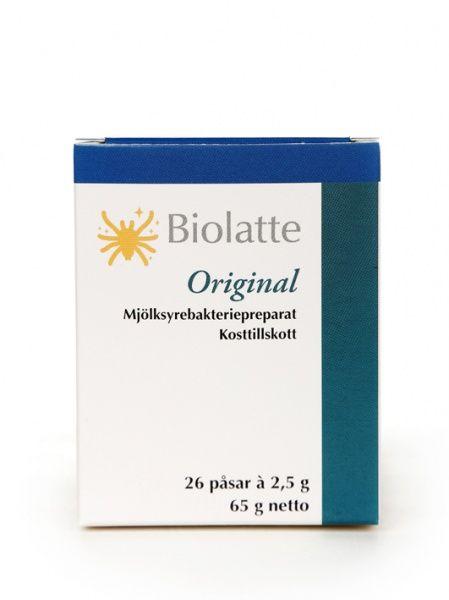 Original 26 pakki Biolatte
