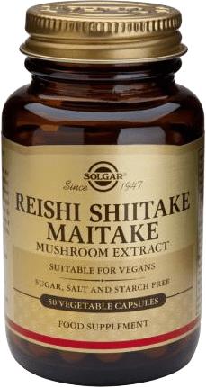 Reishi Shiitake Maitake 50 kaps