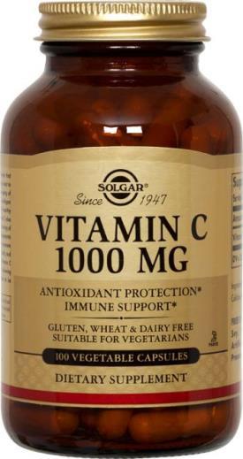 solgar 1000 mg 100 kaps vit c