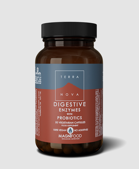 digestive enzymes with probiotics
