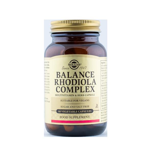 033984509795 Balance Rhodiola Compleks 60 kaps