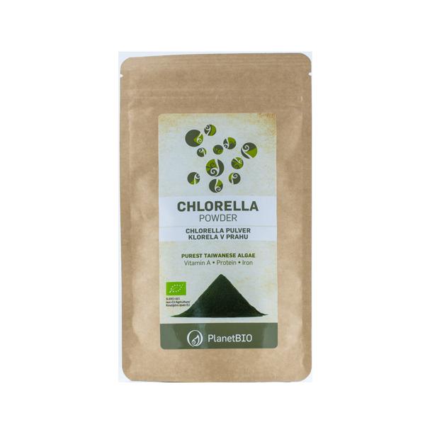 3830052040870 Chlorella pulber 100g Planet Bio
