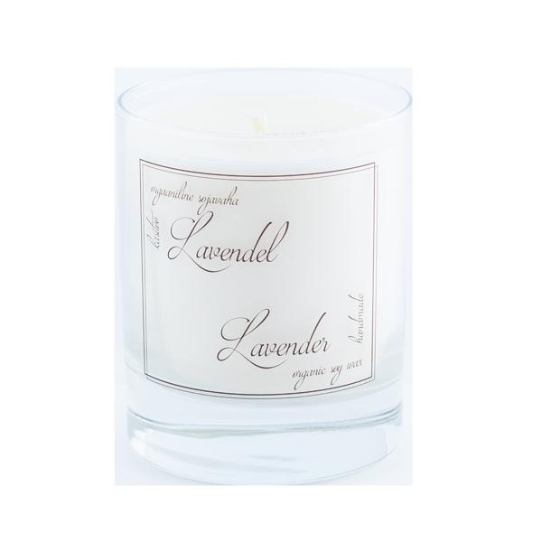 4743127001166 – Suur küünal Lavendel