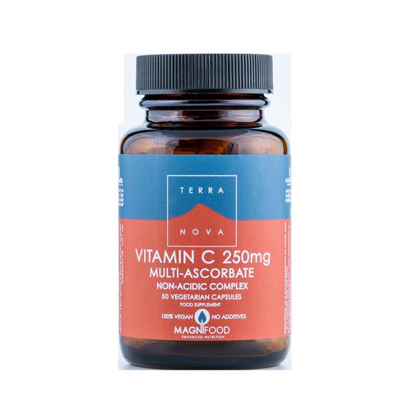 5060203790370 – Multi-C-vitamin 250 mg Complex 50 kaps Terranova (Vegan)