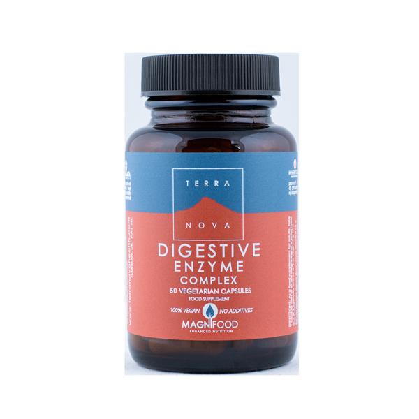 5060203790677 Digestive Enzyme Complex 50 kaps. Terranova (Vegan)