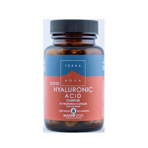 5060203793876 Hyaluronic Acid Complex 50 kaps, Terranova (Vegan)