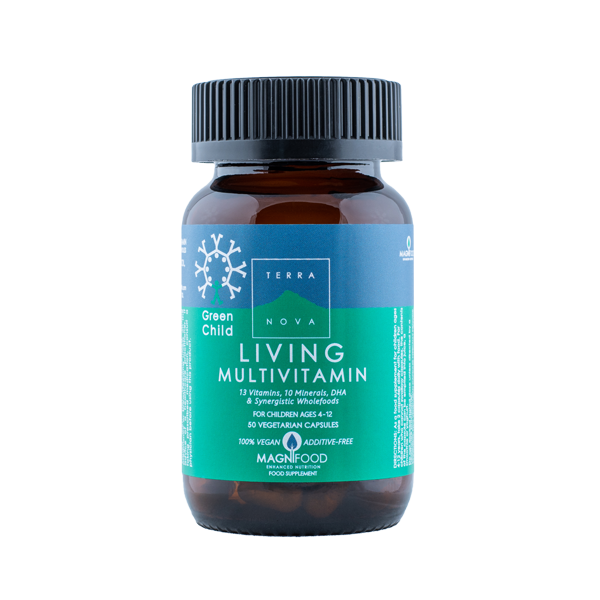 5060203794385 Green Child Living Multivitamin 50kapsTerranova (Vegan)