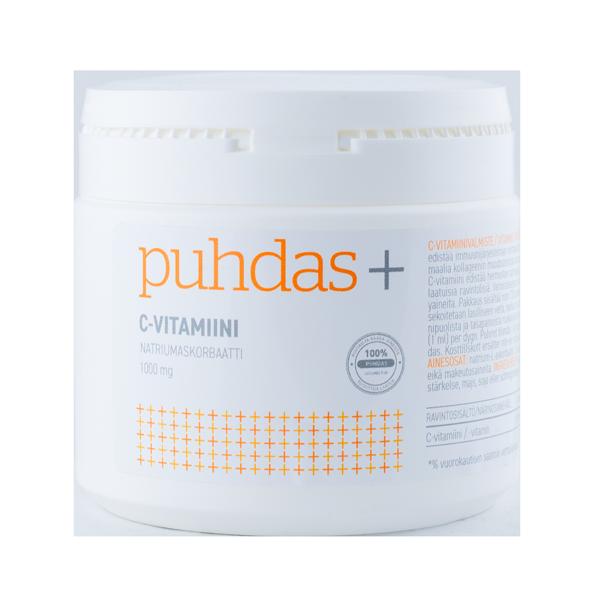 6430050001209_C-vitamiini-pulber,-naatriumaskorbaat-1000mg-150g-Puhdas+