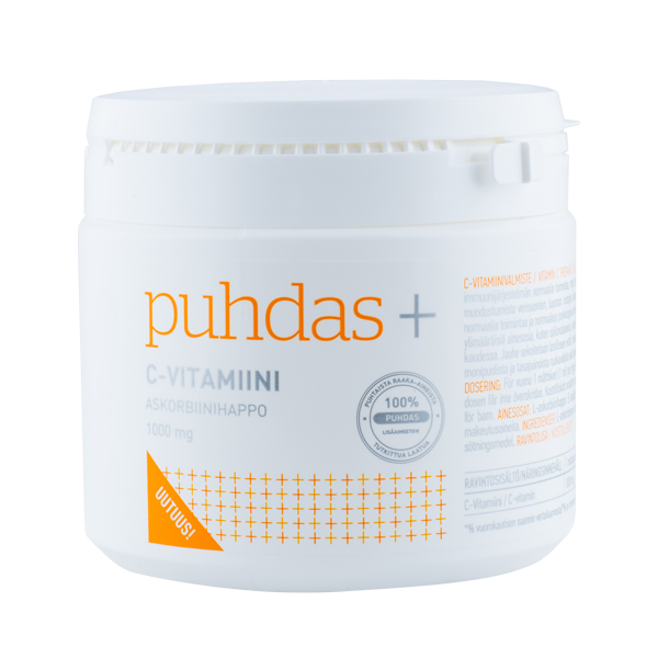 6430050007584_C-vitamiini-pulber-1000mg–150g-Puhdas+