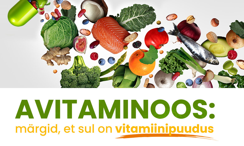 Avitaminoos ehk vitamiinipuudus