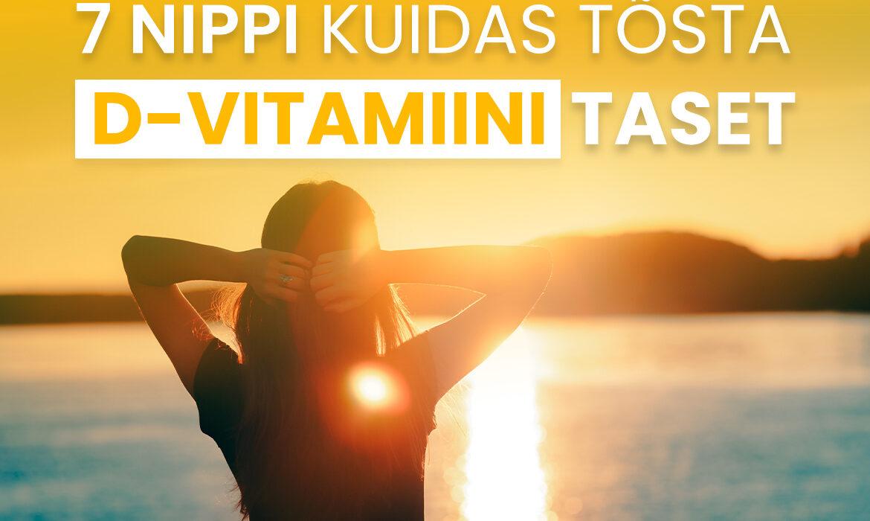 D-vitamiini puudus