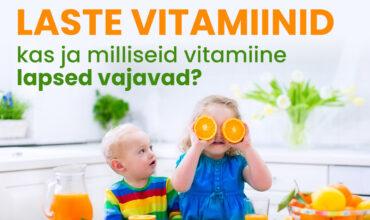 Laste vitamiinid - mida valida?