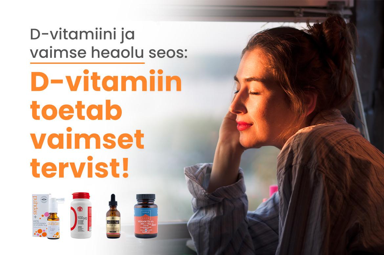 D-vitamiin ja depressioon